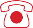 icon of red phone